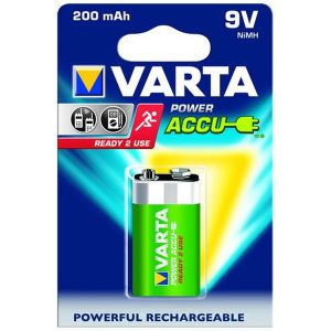 Acumulator Varta Power, 9V, 200 mAh