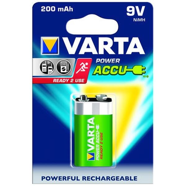 Acumulator Varta Power, 9V, 200 mAh
