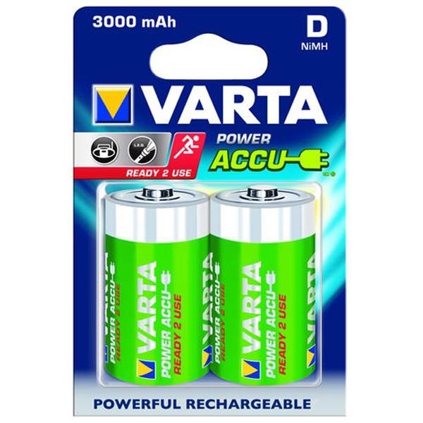 Acumulator Varta Power 56720, R20, 3000 mAh, 2 buc